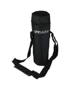 LIFESAVER bottle black pouch